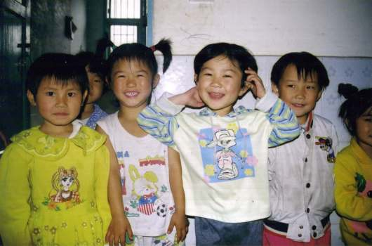 China_Leshan_kindergarten_children