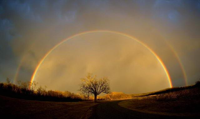Witnessing The Rare Full Circle Of The Rainbow P21chongs Blog