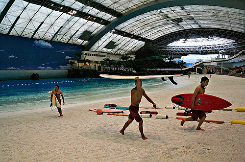 Miyazaki Ocean Dome Largest Indoor Water Park In The World - Indoor man made beach japan incredible